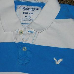 American Eagle Outfitters Shirts - American Eagle XL ss polo EUC golf shirt